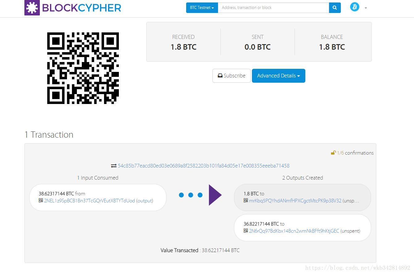 bitcoin testnet explorer